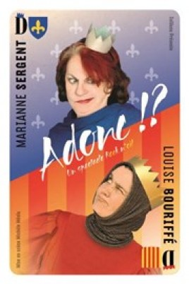 Louise Bouriffé et Marianne Sergent dans A donc !?